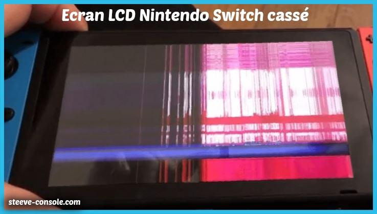 Ecran lcd nintendo Switch cassé